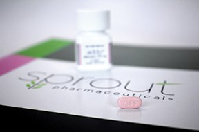 Sprout's flibanserin received FDA approval on Tuesday, August 18