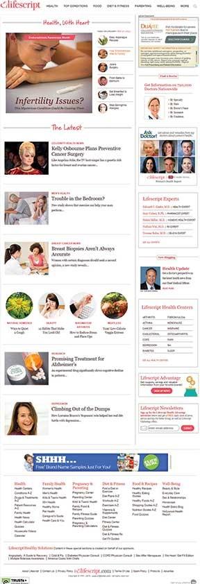 Best Healthcare Consumer Media Brand: 2015