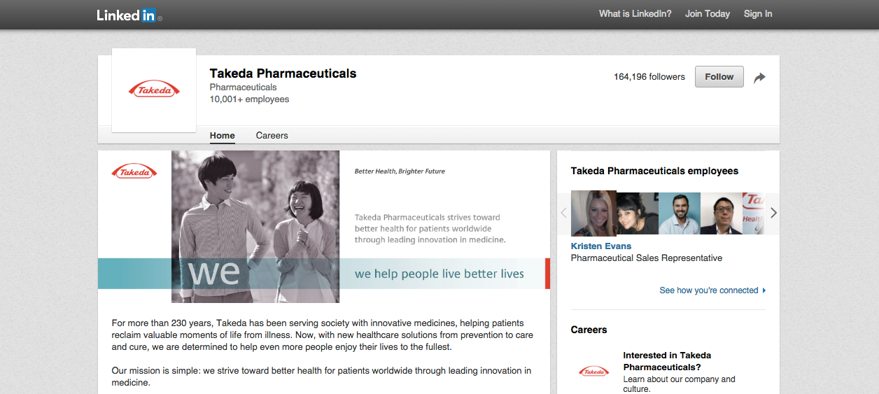 Pharma companies turn to LinkedIn to engage