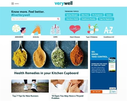 About.com launches first standalone health site Verywell