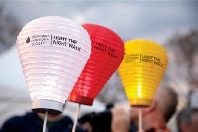 M Booth supports Leukemia & Lymphoma Society's Light the Night campaign
