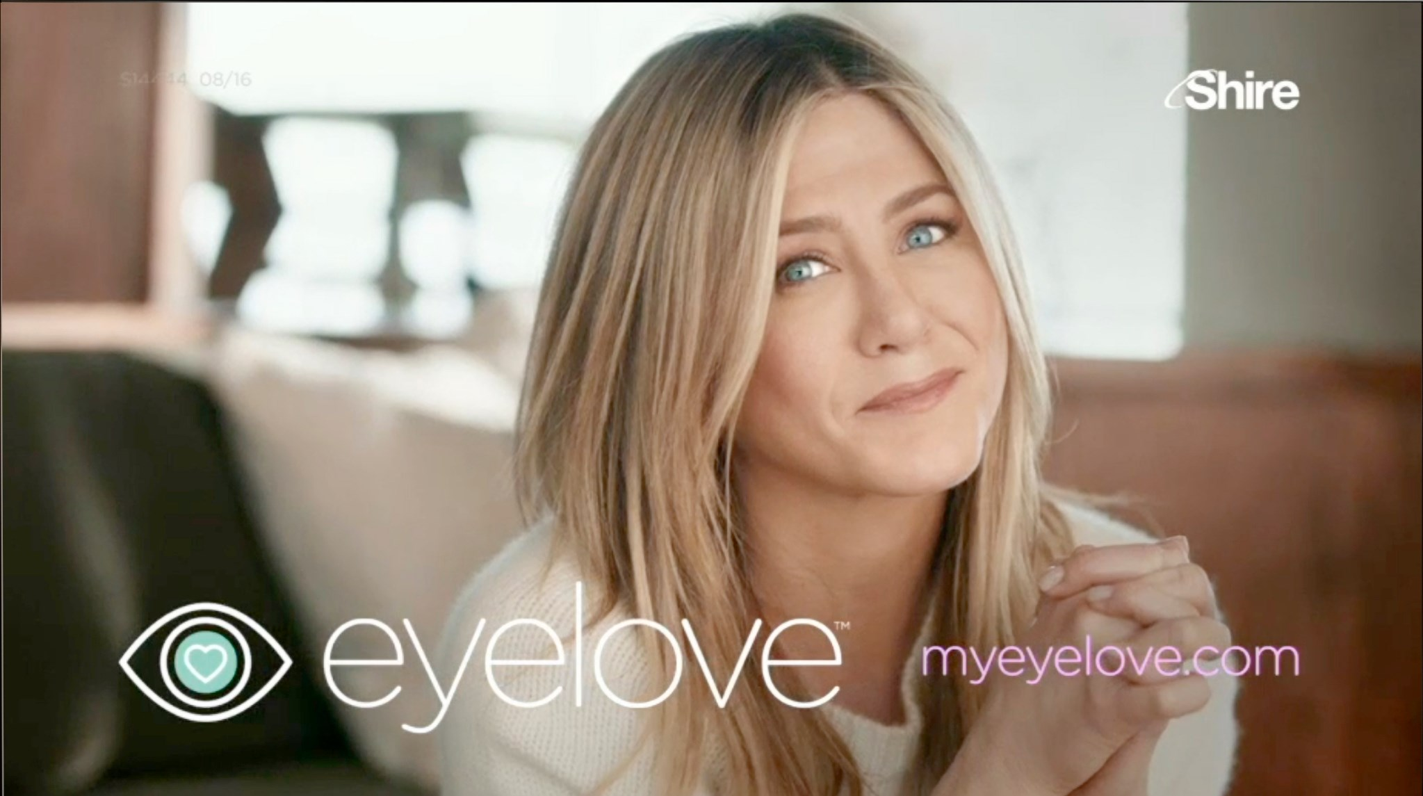 Shire taps Jennifer Aniston for awareness campaign as it enters the eye care market