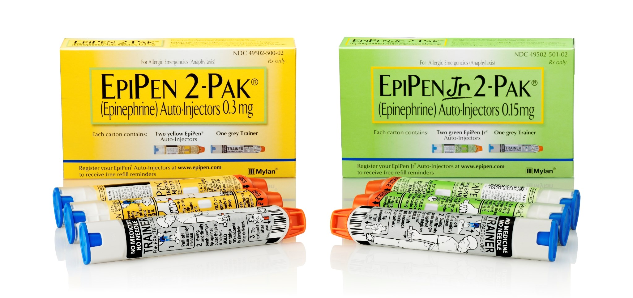Mylan's branded ad spending on the EpiPen rose 357% — to $43 million in 2015 — over five years