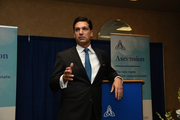 How Ascension's Nick Ragone is rebranding one of the biggest U.S. health systems