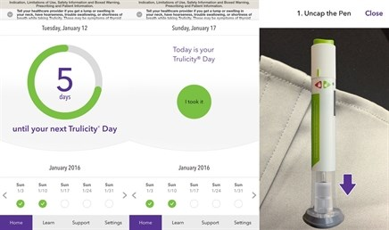 Lilly's branded app for Trulicity looks to address adherence
