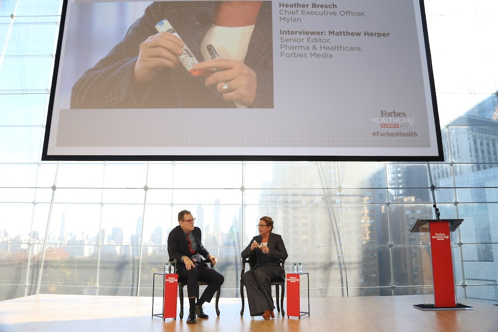 Mylan CEO defends EpiPen strategy, questions pricing model in the U.S.