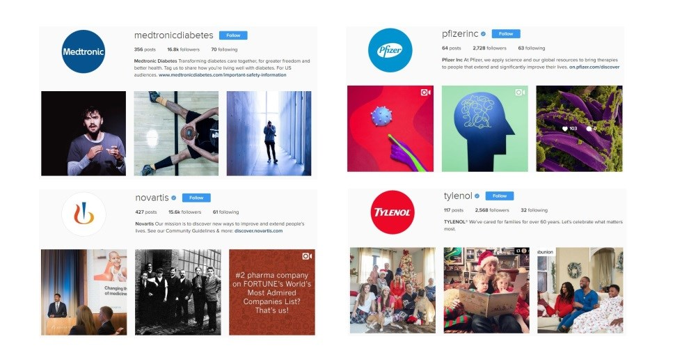 10 ways healthcare companies are testing Instagram