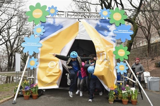 Bayer's Claritin campaign encourages time outdoors