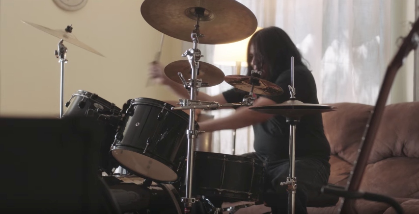 Apple helps a blind drummer and nonverbal teen thrive in new spots