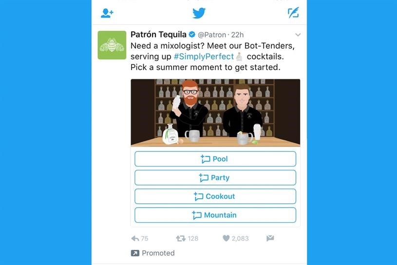 Twitter launches DM cards for brands