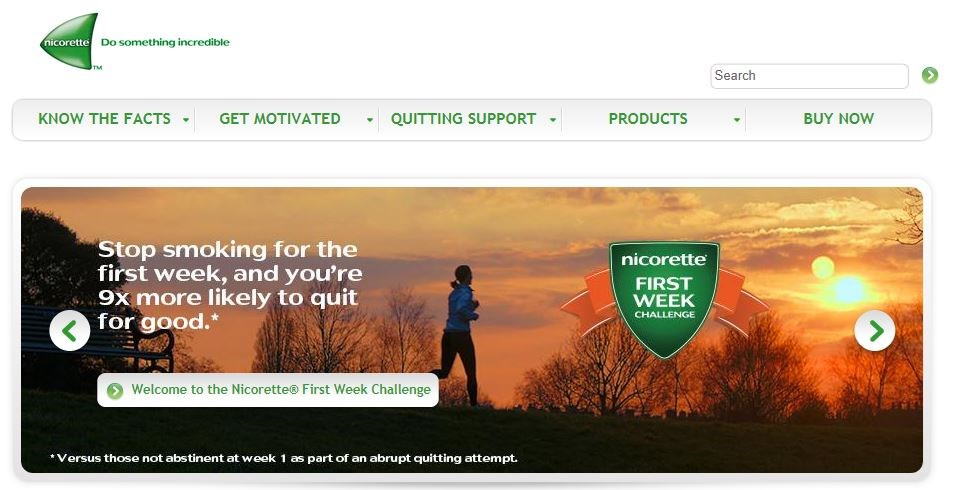 Johnson & Johnson in breach of U.K. rules over Nicorette marketing