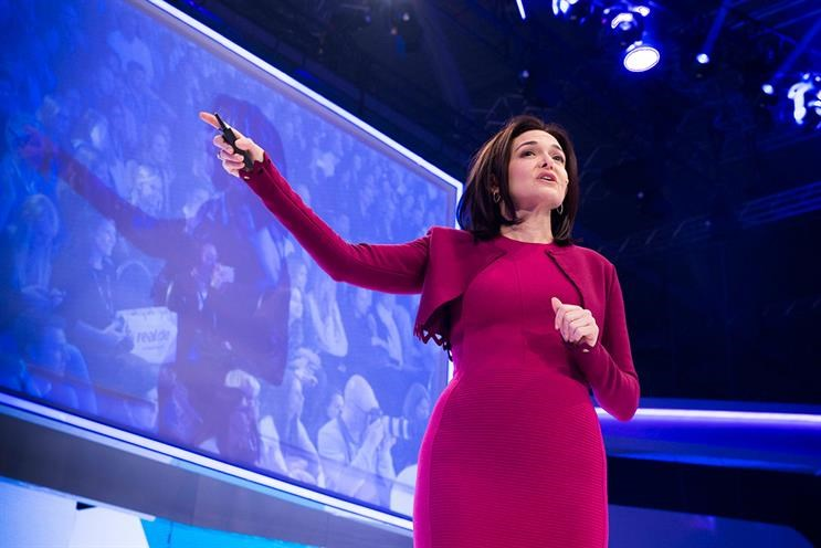 Sheryl Sandberg: 'Facebook must bring people together to do good'
