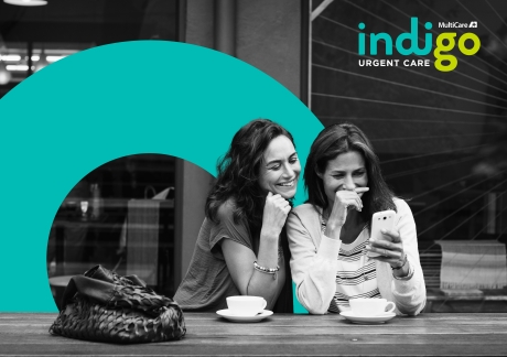 Best Corporate Branding Campaign Level and Urgent Care Partners Indigo Urgent Silver