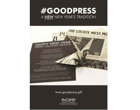 McCann Healthcare, GoodPress, Agency Self-Promotion Silver