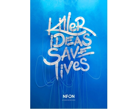 Best Mid-Size Healthcare Agency Neon Silver
