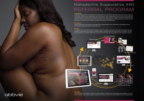 Best Orphan Product Marketing Initiative Gold Publicis LifeBrands Medicus	and AbbVie for Humira Dermatology