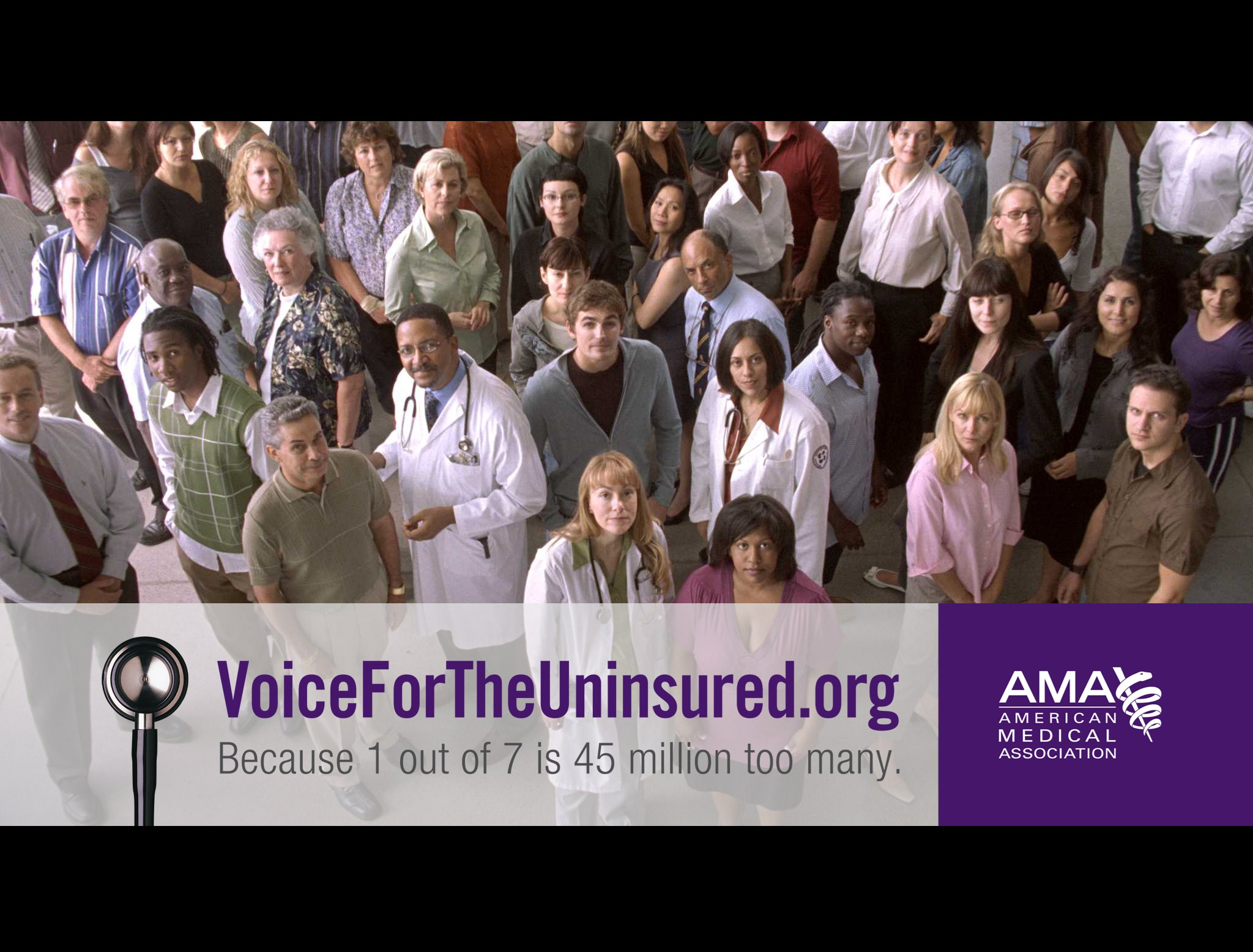 AMA TV ads launch on Labor Day