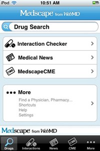 WebMD to launch Medscape iPhone app