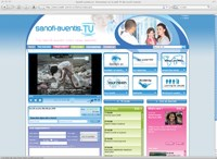 Sanofi launches corporate web TV site