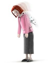 For Pristiq, Wyeth deploys wind-up doll