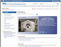"FDA launches ""Basics"" transparency microsite"