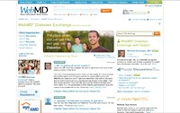 WebMD launches social networking venture