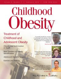 New journal devoted to hot button issue: childhood obesity