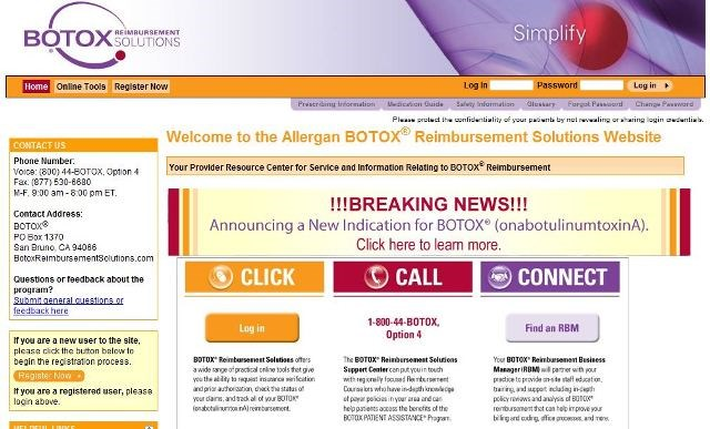 Allergan to shift headache sales reps to Botox