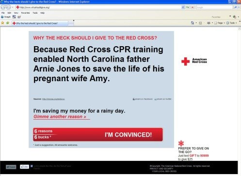 Red Cross targets youth with social media effort