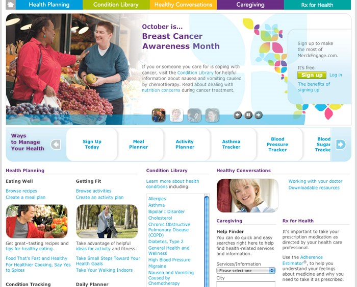 Merck web widget points to future adherence fix