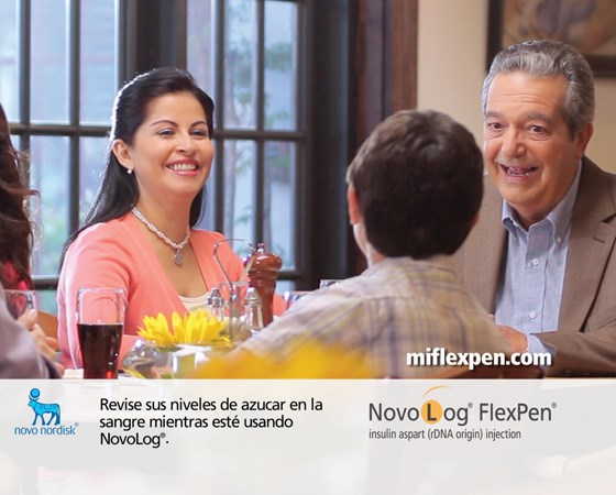 "Novo Nordisk launches ""robust"" Hispanic FlexPen play"
