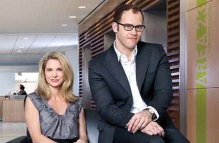 Managing directors Renee Mellas and Tim Hawkey