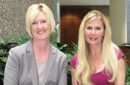 Adrienne Lee (executive managing director), Melissa ­Cahill (executive creative ­director)