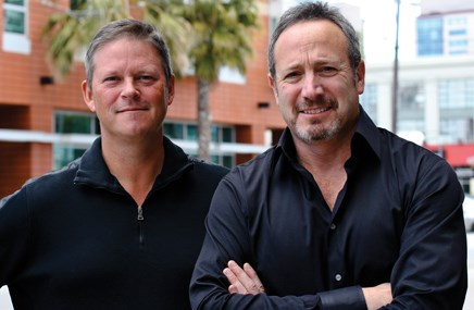 Principals John Kane and Bob Finkel