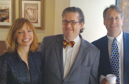 Partners Maureen Regan, Brendan Ward and Rich Campbell