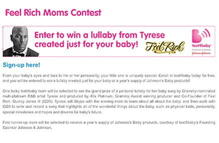 Text4Baby targets moms-to-be with lullaby campaign