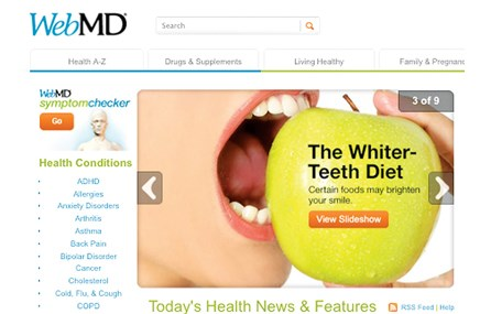 WebMD adds clicks but not adspend
