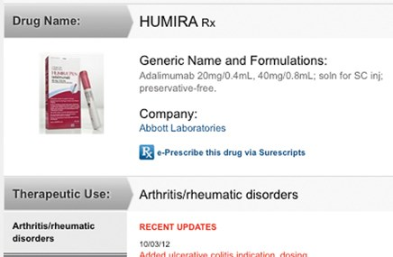 MPR redesign streamlines info, adds prescribing tool