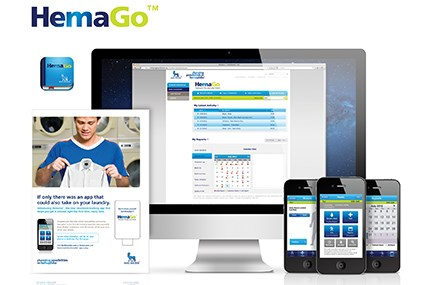 Work for Novo Nordisk's HemaGo app