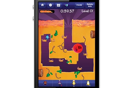 Mobile game developed by Eveo specifically for children with cystic fibrosis