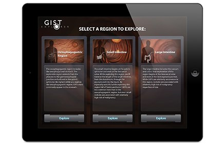 INVIVO's 2012 projects included work for the GIST Explorer