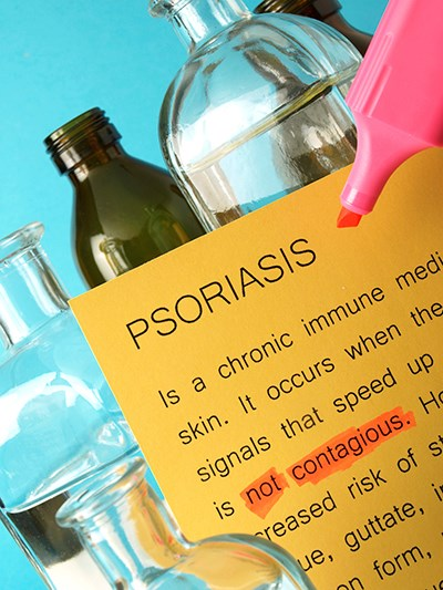 Rampant dissatisfaction with psoriasis drugs: study