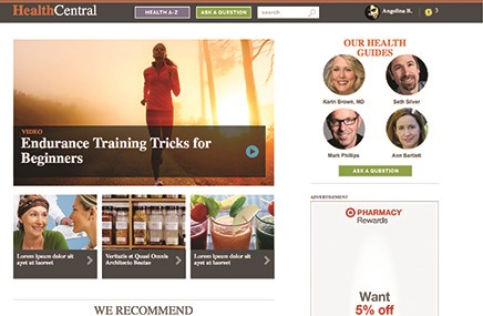 Remedy's HealthCentral.com is getting a makeover