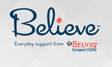 The Believe program is available only to patients who have been given a prescription