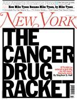 New York Magazine examines cancer drug pricing