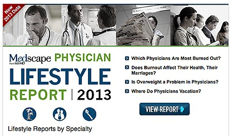 Medscape finds docs are a lot like their patients
