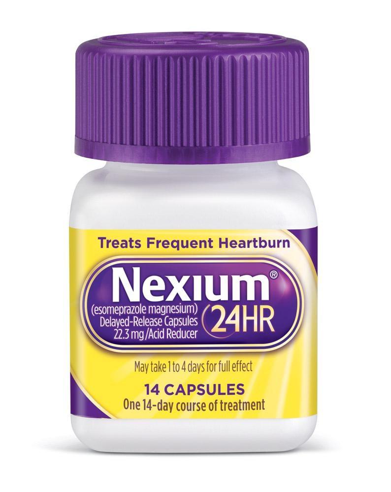 Pfizer takes Nexium OTC