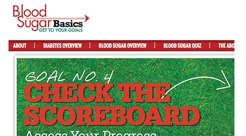 The Blood Sugar Basics website