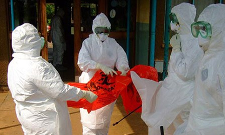Ebola lands in the US