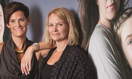 Lara Viau (left), SVP marketing at Digitas Health LifeBrands; Vic Noble (right), consumer marketing lead–ADHD, Shire
